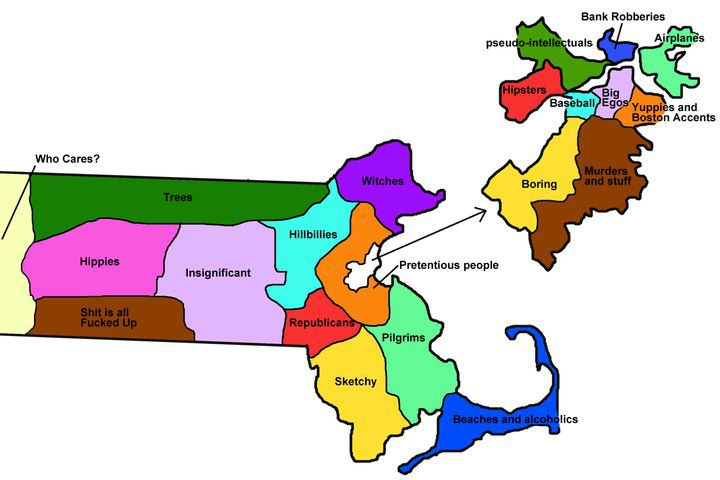 Random Notes Geographeratlarge Map Of The Week The - Map of us according to