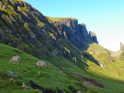 Isle of Skye, Trotternish, Highlands, Scotland, Escocia, United Kingdom, Quiraing