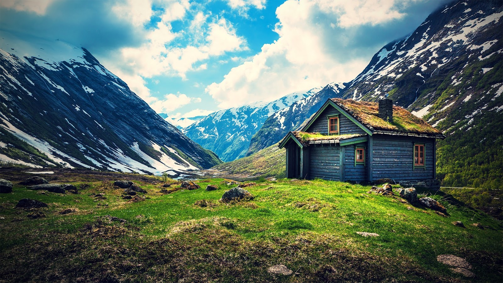 Dreamypictures una casa en la monta a - Casas en la montana ...