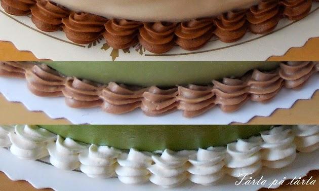 chokladfrosting till tårta