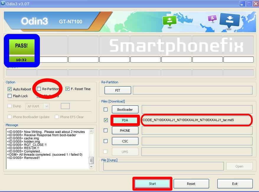 Samsung Galaxy Note 2 Stock ROM Odin
