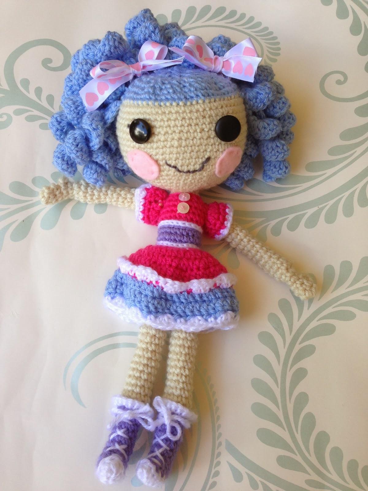 Crochet Wedding Dolls Pattern : Faery Tale Crochet: Lallaloopsy doll