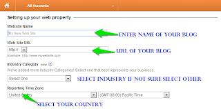How to Add Google Analytics to Blogger 2