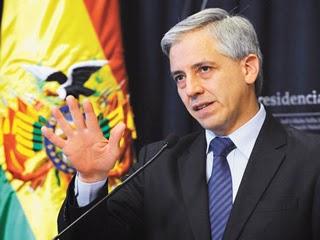 Álvaro García Linera responde a denuncias de Unidad Demócrata