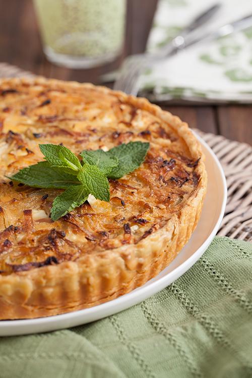 Greek Vegetarian: Fennel, Zucchini and Feta Tart and Tony goes on the ...