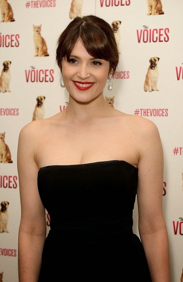 All eyes were on Gemma Arterton, 29, and her svelte frame as she walked to a special screening of her new film, The Voices on Thursday, March 12, 2015 at London, England.