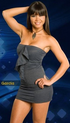 Melissa García posando