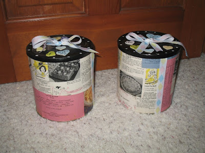 Recycled coffee cans 2