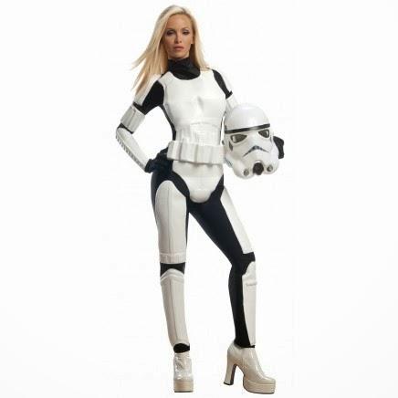 Disfraz de Stormtrooper Mujer