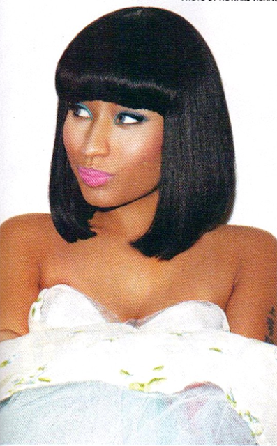 Nicki Minaj hairstyles pictures