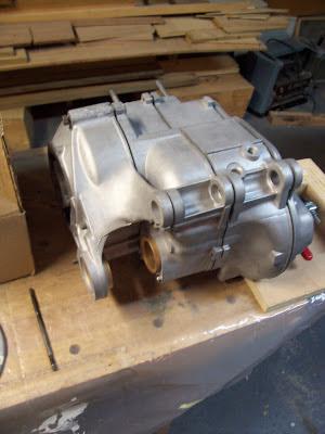 Heinkel Kabine engine parts