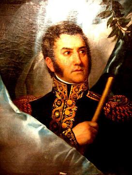 General JOSÉ FRANCISCO DE SAN MARTÍN. (Yapeyú 25/02/1778 - Francia 17/08/1850)