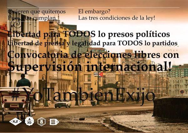 #YoTeInvito a Nuestra Plaza el 30 a las 3 #YoTambienExijo