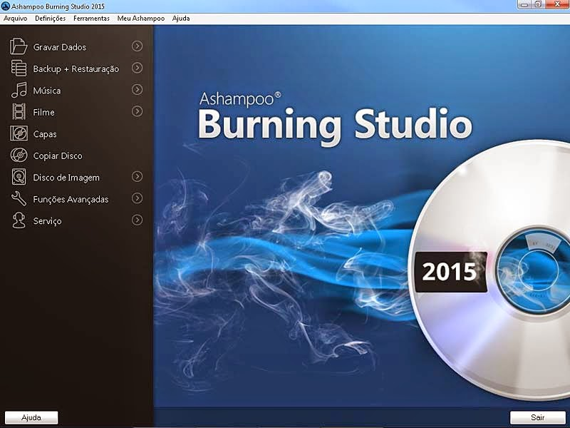 Ashampoo Burning Studio 2015 Portable