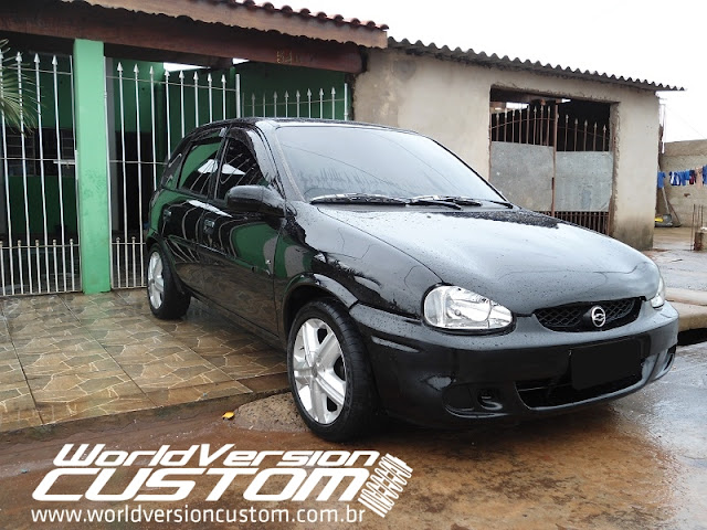 Carro do Internauta: Corsa na #Fiixa com rodas do Astra GSi aro 15""