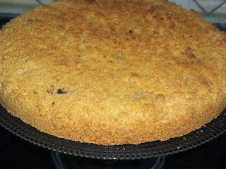 .. torta sbrisciolona di ricotta e nutella ..
