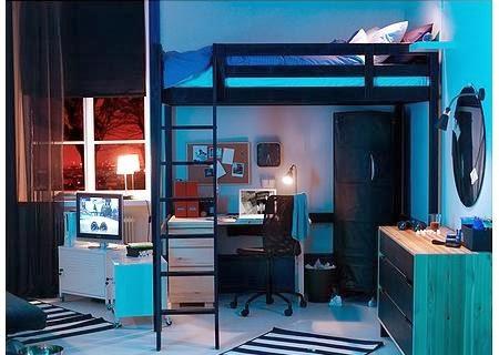 DORMITORIOS JUVENILES EN ESPACIOS PEQUEÑOS  - MUEBLES CAMA PARA DORMITORIOS CON ESPACIO REDUCIDO - DECORACIÓN DE DORMITORIOS INFANTILES EN ESPACIOS REDUCIDOS  vía http://dormitorioinfantil.blogspot.com/2014/02/dormitorios-en-espacios-pequenos.html#.Uw0AAON5OLc