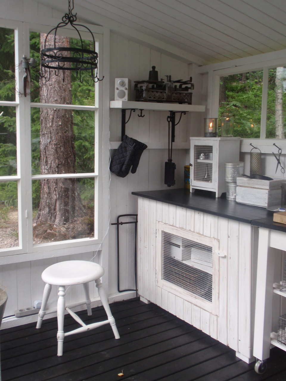 Kesäkeittiö on Pinterest  Summer Kitchen, Outdoor Kitchens and Rustic Outdoo