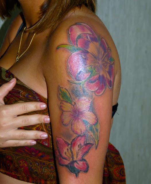 Great tattoo fiori