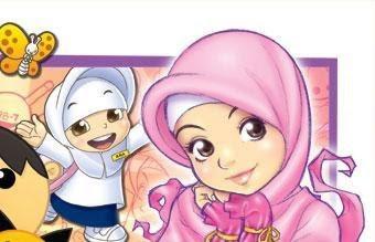 Oleh Gambar-gambar kartun muslim dan muslimah Anak tersebut, aku
