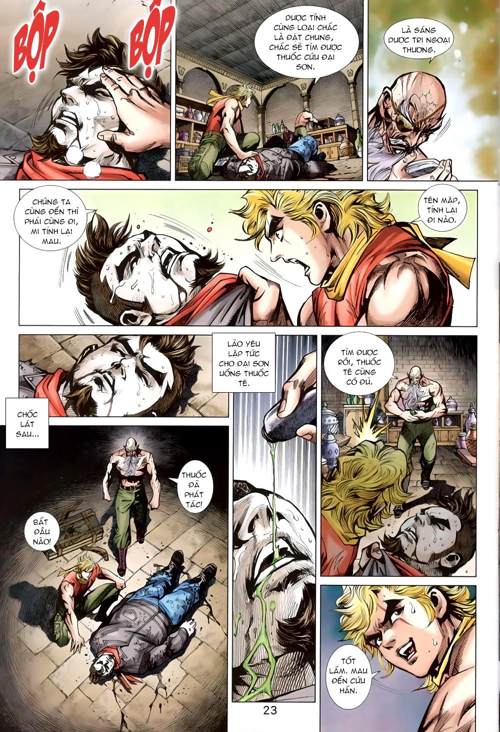 Tân Tác Long Hổ Môn chap 820 Trang 22 - Mangak.info