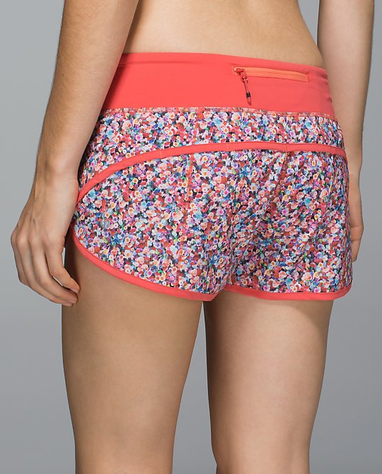 lululemon speed short prism petal multi