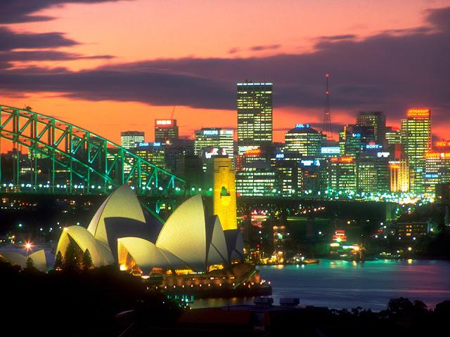 Paisajes de Australia