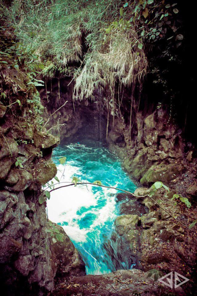 Cenote in Xilitla in San Luis Potosi in Mexico