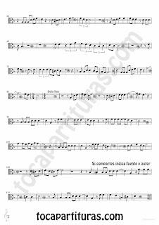Tubepartitura Lágrimas Negras de Bebo Valdés partitura para Viola partitura de Bolero