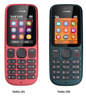 new Nokia 101 And 100