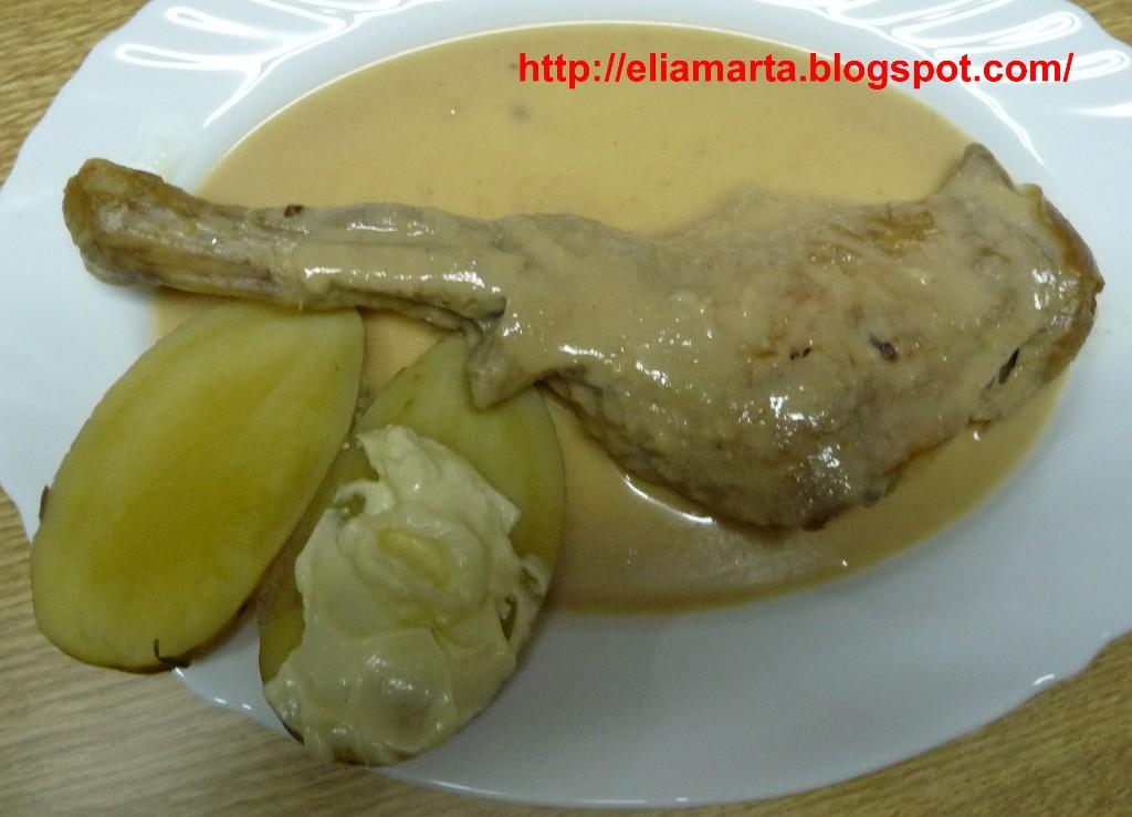 MIS RECETAS ¡¡Buen ver y buen comer!!: PALETILLA DE CORDERO CON ...