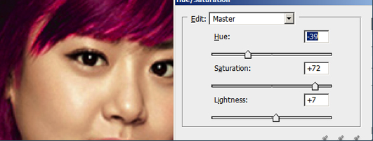 Tutorial Cara Mengubah Warna Rambut dengan Photoshop Cs3