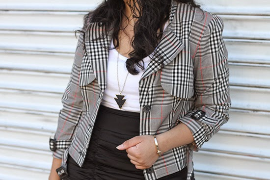 Fall Plaid Jacket