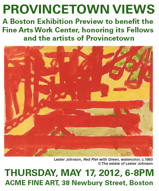 May 17 - FAWC Preview Benefit ACME Fine ARt 38 NewBury Boston 6-8pm
