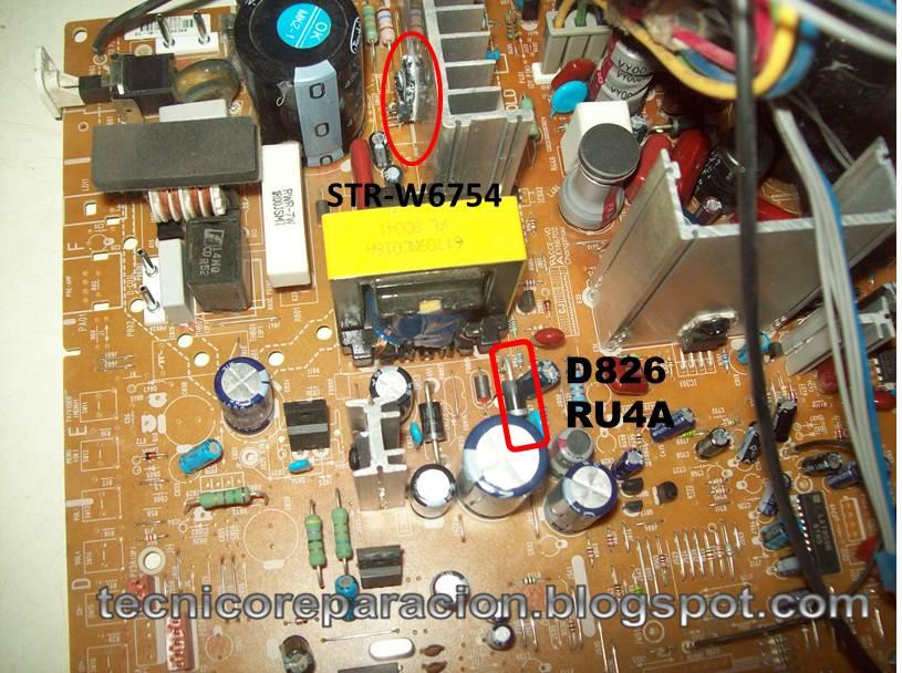 21FU1RK No Enciende TV LG MC-059 Ultra slim | Reparación ...