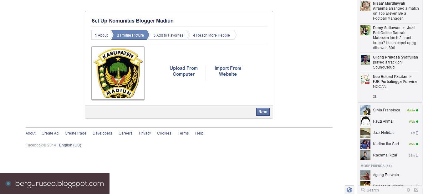 Cara Membuat Fanspage Facebook 5