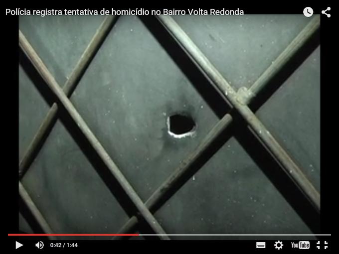 Caxias: Polícia registra tentativa de homicídio no Bairro Volta Redonda
