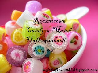 wygrałam candy w Moich Haftowankach
