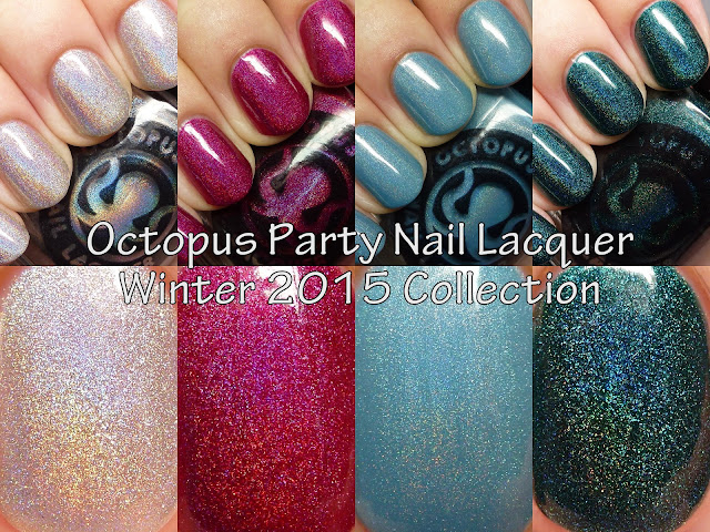Octopus Party Nail Lacquer Winter 2015 Collection