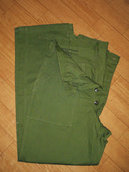 40's~50's DEAD STOCK H.B.T. FATIGUE PANTS SIZE表記:M(34×33)