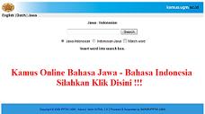 Kamus Bahasa Jawa - Indonesia