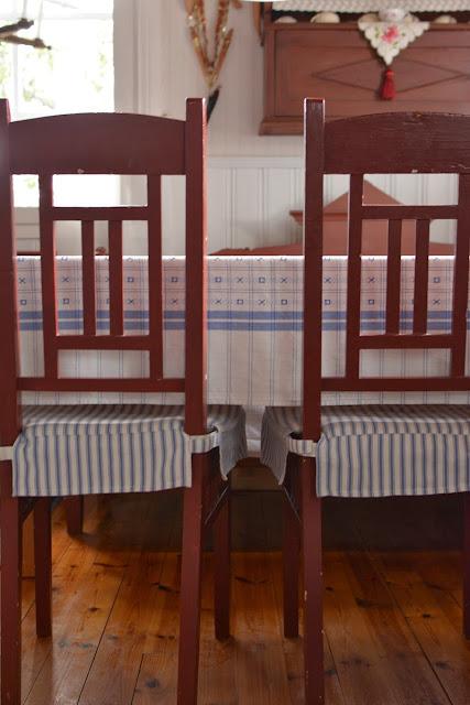 Talonpoikaistyyliset tuolit - Muonamiehen mökki