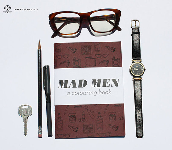 mad men coloring book