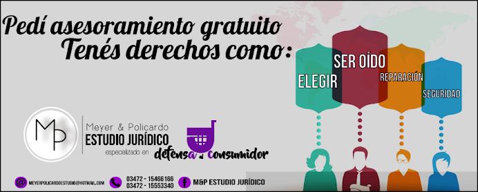 ESPACIO PUBLICITARIO: ESTUDIO JURÍDICO MEYER & POLICARDO