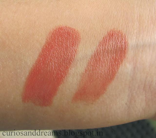 Elle 18 Color Pops Lipstick Cinnamon Bun Review