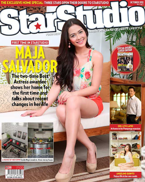 Maja Salvador Covers StarStudio October 2012 issue
