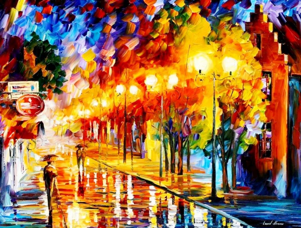 Pintura moderna y fotograf a art stica pinturas - Cuadros modernos con mucho color ...