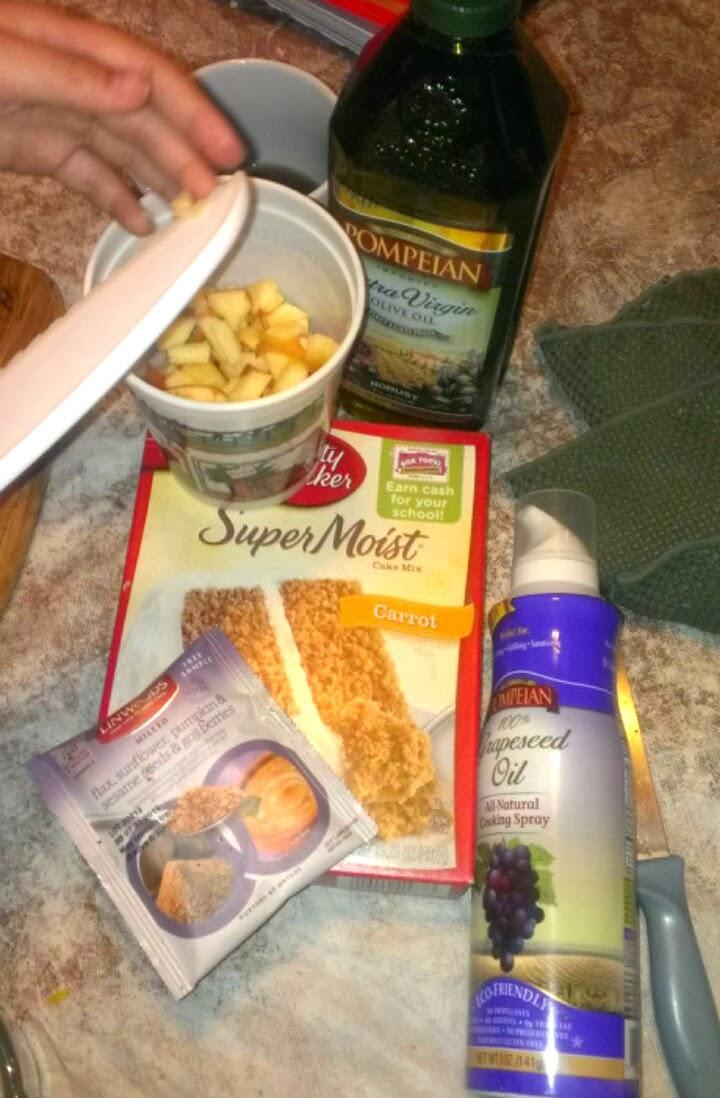 carrot apple cake ingredients