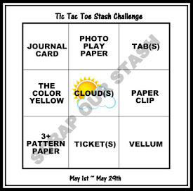 May Tic Tac Toe Stash Challenge
