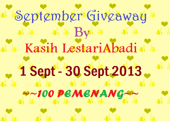 Giveaway,Segmen,KasihLestariAbadi,Hadiah,September